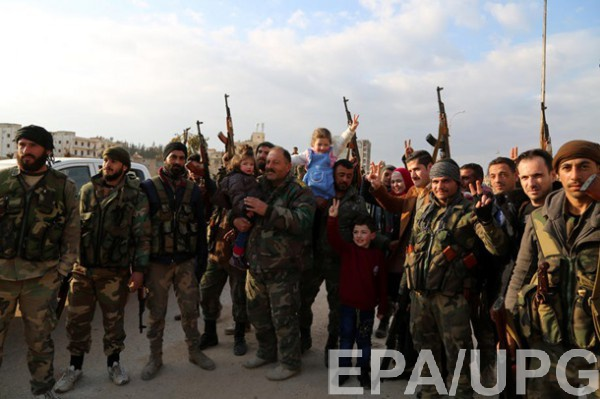 Армия Асада в Алеппо