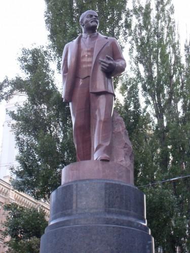 Памятник Ленину на Бессарабке был установлен в 1946 году