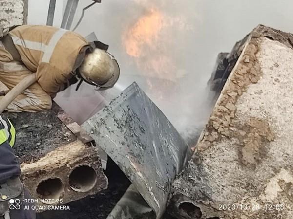 Взрыв прогремел в 20 км от Харькова