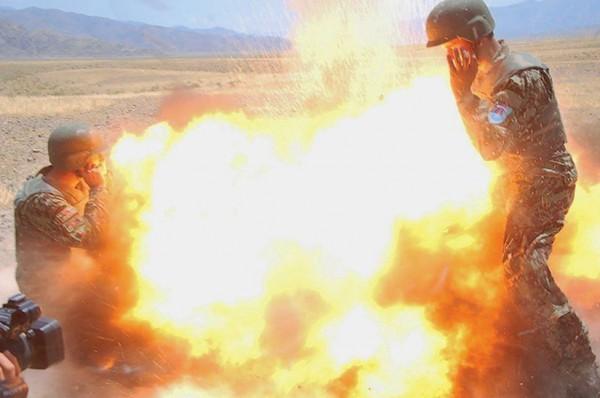 Этот снимок был сделан афганским солдатом, которого тренировала Клейтон
