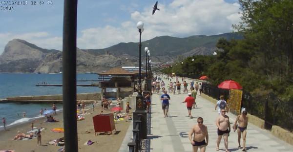Алупка крым фото пляжей и набережной