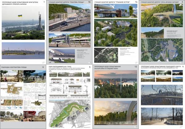 План развития прибережной зоны Киев