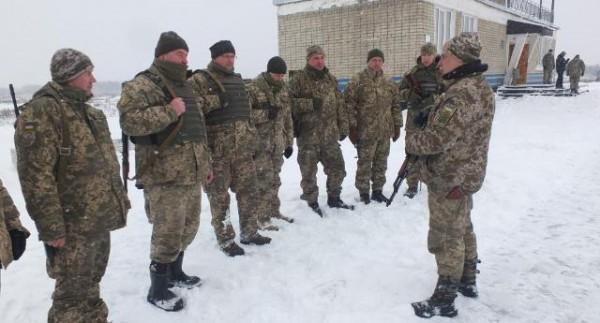 Военные инструкторы ВСУ изучают тактику ведения действий подразделений