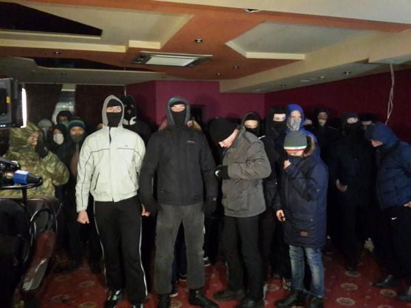 нападение на казино киев
