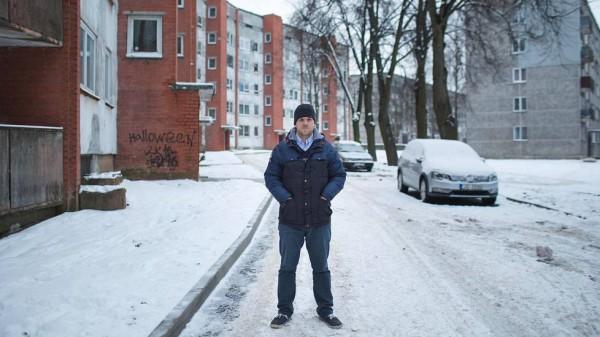 Юрий Виноградов, 33-летний водитель в городе Резекне