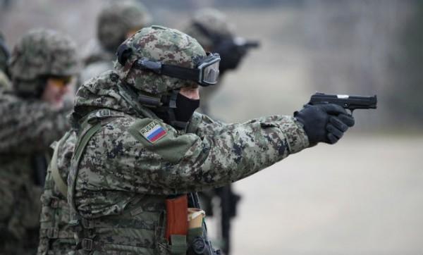 В Дебальцево прибыли российские нацгвардейцы