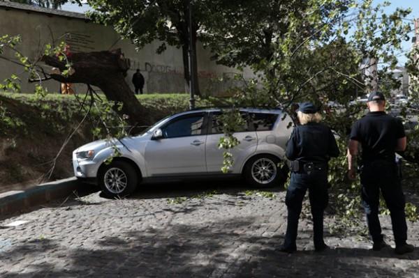 Происшествие случилось на платном паркинге
