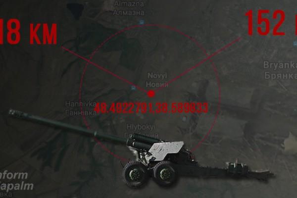 Волонтеры обнаружили оружие РФ в Луганской области