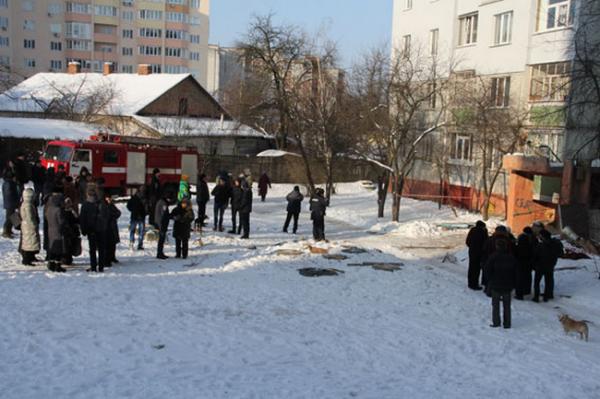 В Чернигове прогремел взрыв