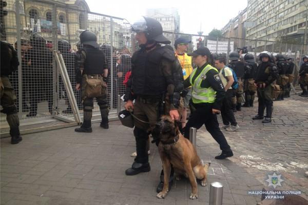Полицейских было больше, чем участников марша
