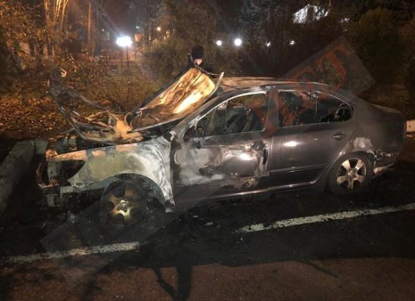 Это уже второй  за последние месяцы поджег машины сотрудника Одесской таможни