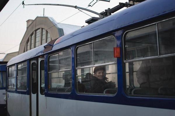 Троллейбус в Риге