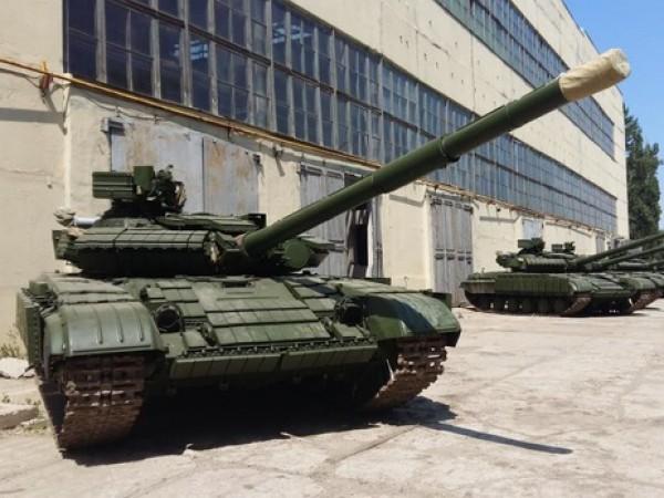 Восстановленные танки будут направлены в зону АТО
