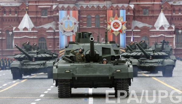 Генеральная репетиция парада прошла наКрасной площади