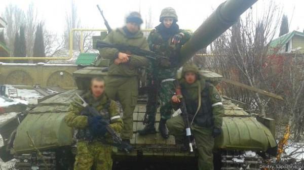 Помощь российских танковых подразделений во время боев за Дебальцево была решающей