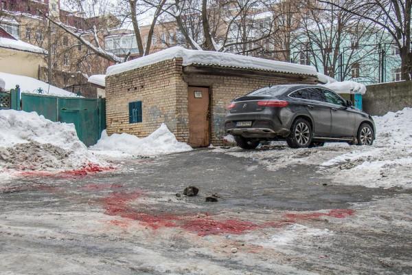 Двор на улице Лютеранской, 30 перекрыт