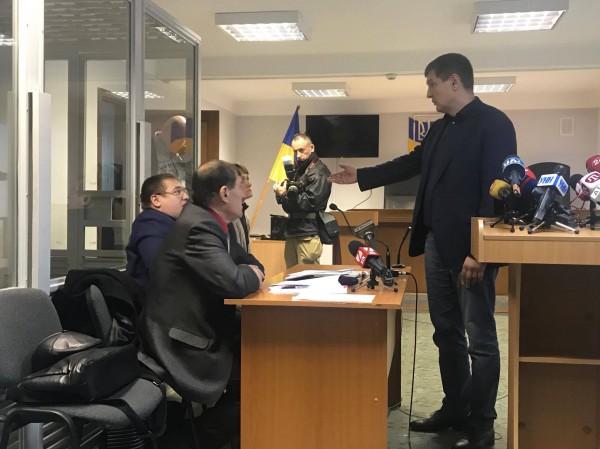 Попов заявил в суде, что они будут выполнять все предписания и компенсируют ущерб