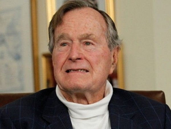 Буш-старший поломал шейный позвонок