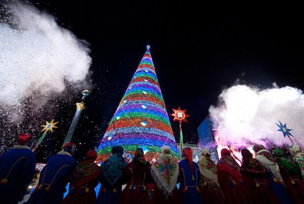 Новогодняя елка в 2012 году