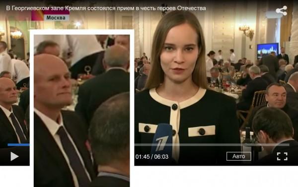 Вагнер на приеме в Кремле, где выступил с речью  Путин