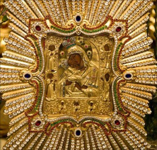 Святой образ будет находиться в Десятинной церкви до 29 марта