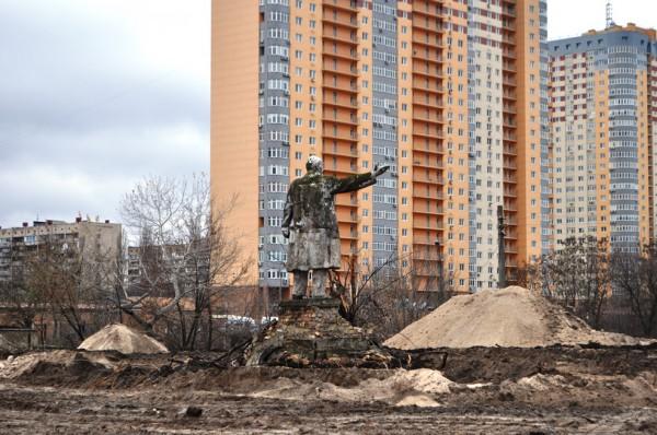 Ленин на на Минском массиве