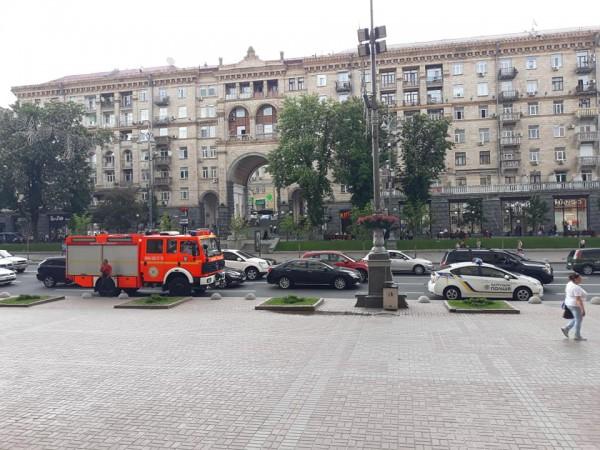 Причина эвакуации неизвестна