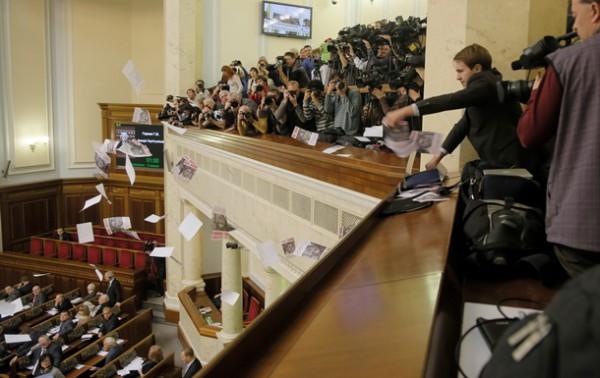Принят законопроет о СМИ в Раде