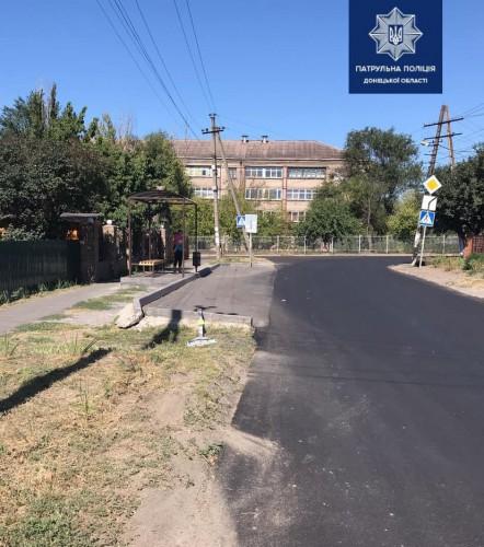 ДТП произошло в районе ул. Шопена