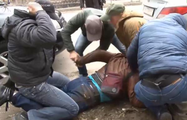 Украинца задержали в Симферополе