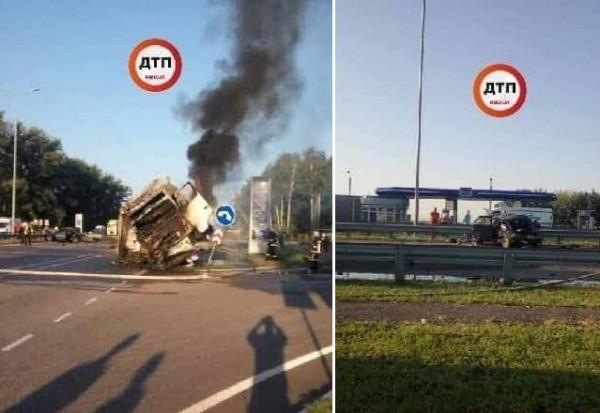 ДТП произошло возле села Ставище
