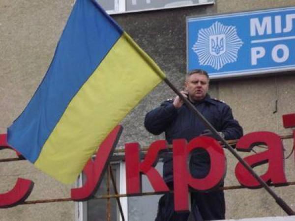 Кищенко защищал горотдел до последнего