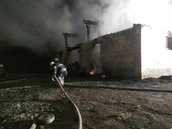 Огромная территория пострадала из-за огня