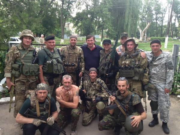 По словам Луценко, его сын артиллерист