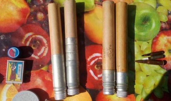 Четыре сигнальные ракеты