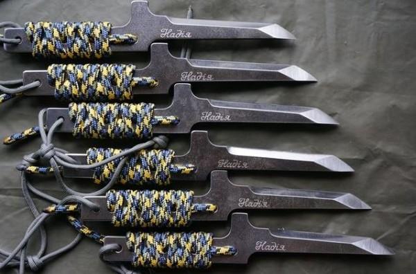 Ножи выпустили в поддержку Савченко