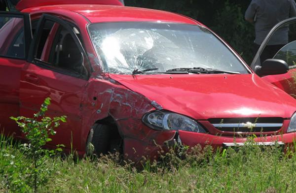 Расстрелянный автомобиль имел луганские номера