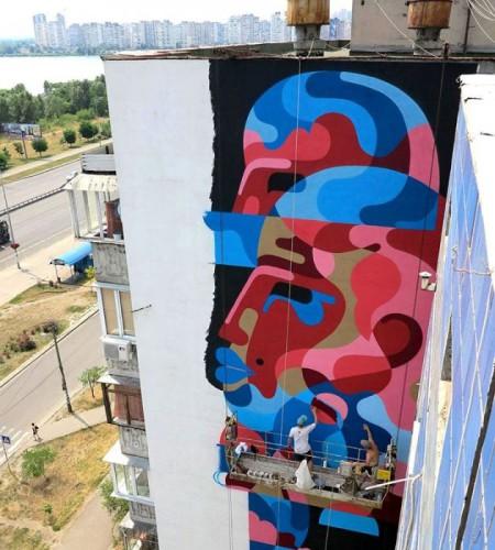 Новый мурал в Киеве