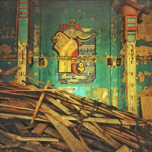 Мозаику в помещении обещают реставрировать