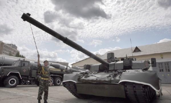 Танки Оплот поступят на вооружение украинской армии