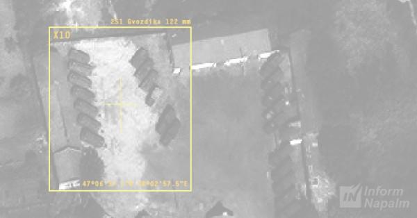 Волонтеры предполагают, что на базе находятся кадровые военные РФ