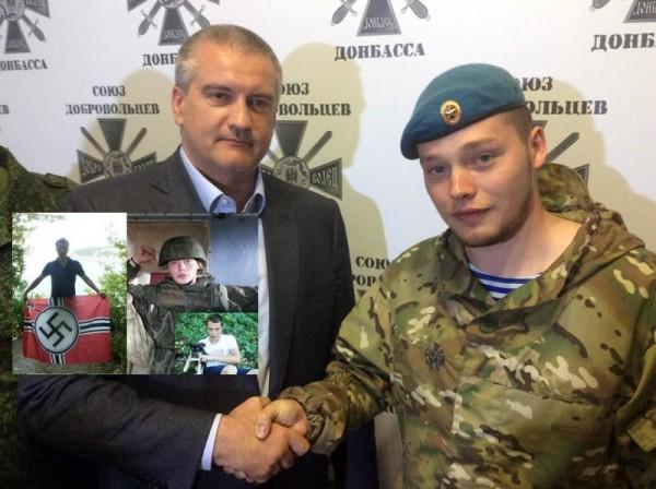 Ставленник Кремля в Крыму Сергей Аксенов и Алексей Мильчаков