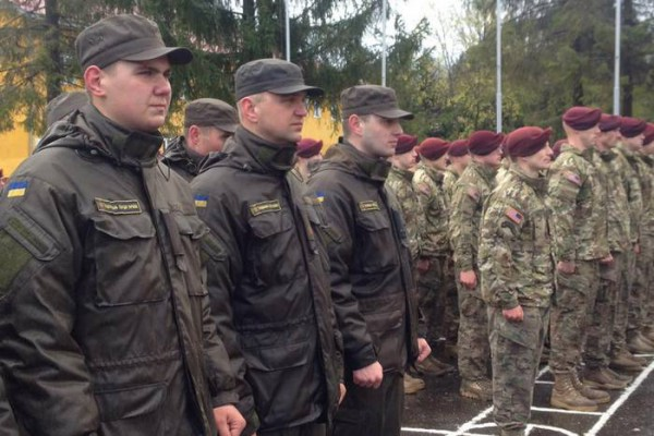 Американские десантники будут обучать украинцев