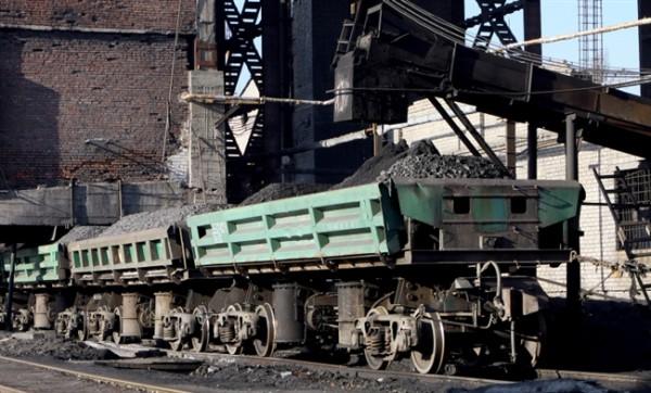Поставки угля уменьшились