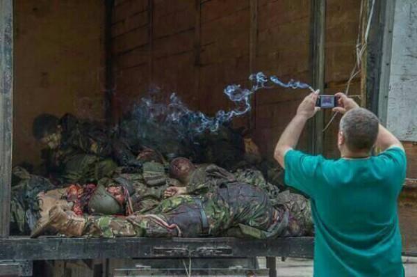 Наблюдатели зафиксировали вооруженных граждан РФ в оккупированной Саханке на Донбассе, - ОБСЕ - Цензор.НЕТ 1001