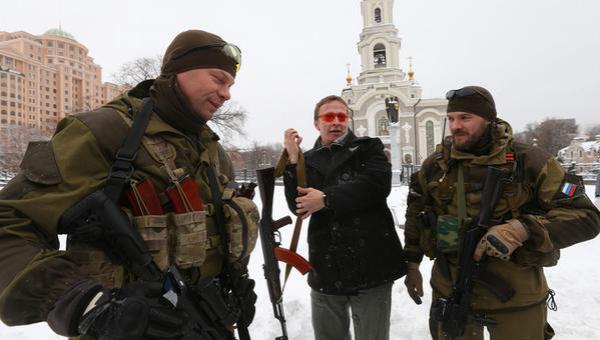 Охлобыстин открыто поддерживает сепаратистов в Украине