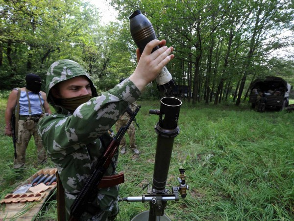 Боевики обстреливали позиции сил АТО