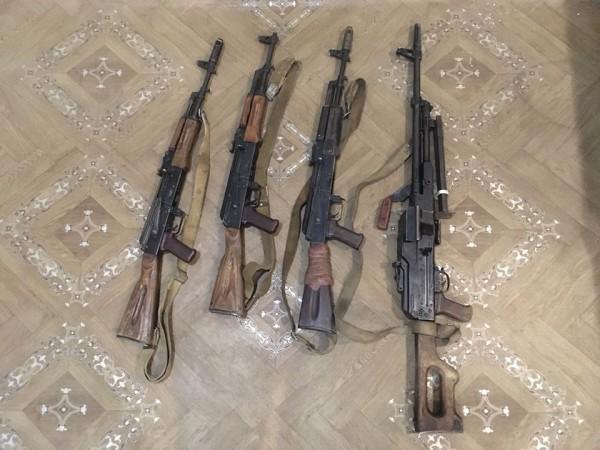 Одного из боевиков ликвидировали, троих взяли в плен