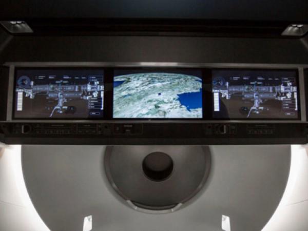 Интерьер нового корабля показали на видео