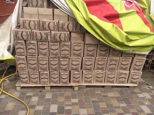 Изъяли почти 9 тысяч литров водки Пшеничная